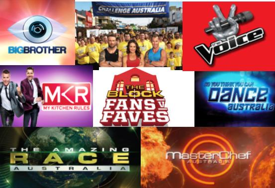 manner current episodes of reality TV shows screening in Australia